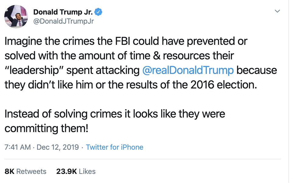 Screen-Shot-2019-12-12-at-11.10.46-AM Donald Jr. Live Tweets His Idiocy During Impeachment Hearing Uncategorized