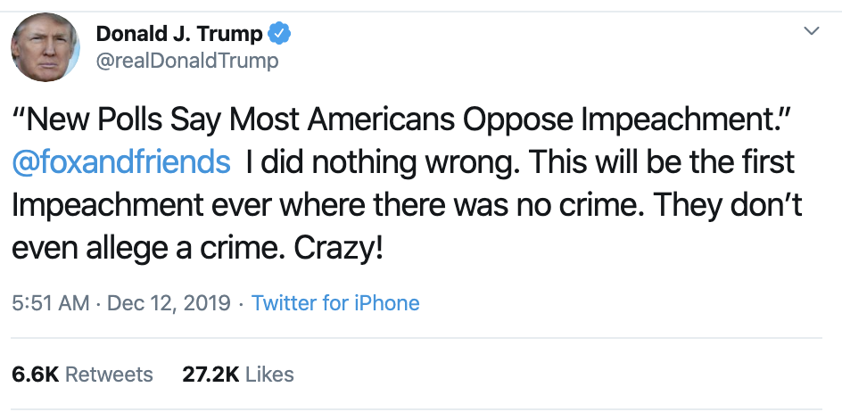 Screen-Shot-2019-12-12-at-7.21.45-AM Trump Rage Tweets Impeachment Induced Thursday Meltdown Election 2016 Featured Impeachment National Security Top Stories