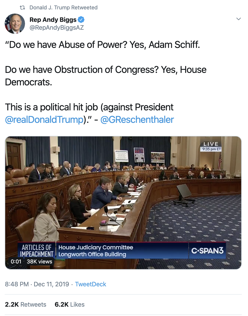 Screen-Shot-2019-12-12-at-7.40.02-AM Trump Rage Tweets Impeachment Induced Thursday Meltdown Election 2016 Featured Impeachment National Security Top Stories