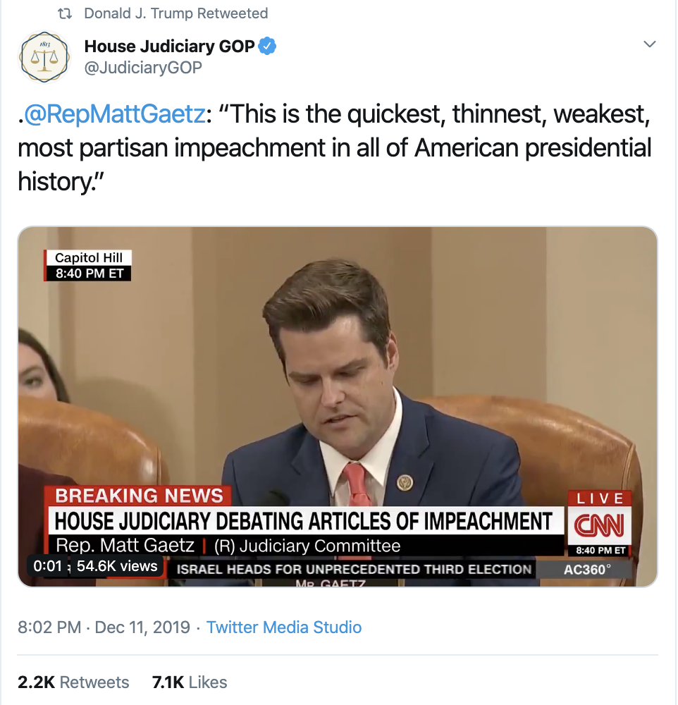 Screen-Shot-2019-12-12-at-7.40.37-AM Trump Rage Tweets Impeachment Induced Thursday Meltdown Election 2016 Featured Impeachment National Security Top Stories