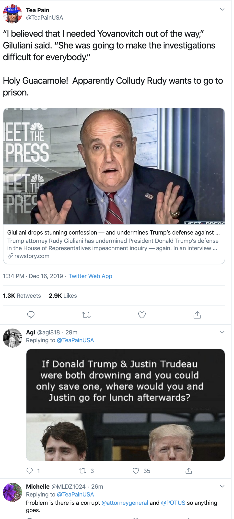 Screen-Shot-2019-12-16-at-2.06.32-PM Giuliani Blurts Out Shocking Admission In New Yorker Interview Corruption Crime Featured Impeachment Investigation Top Stories