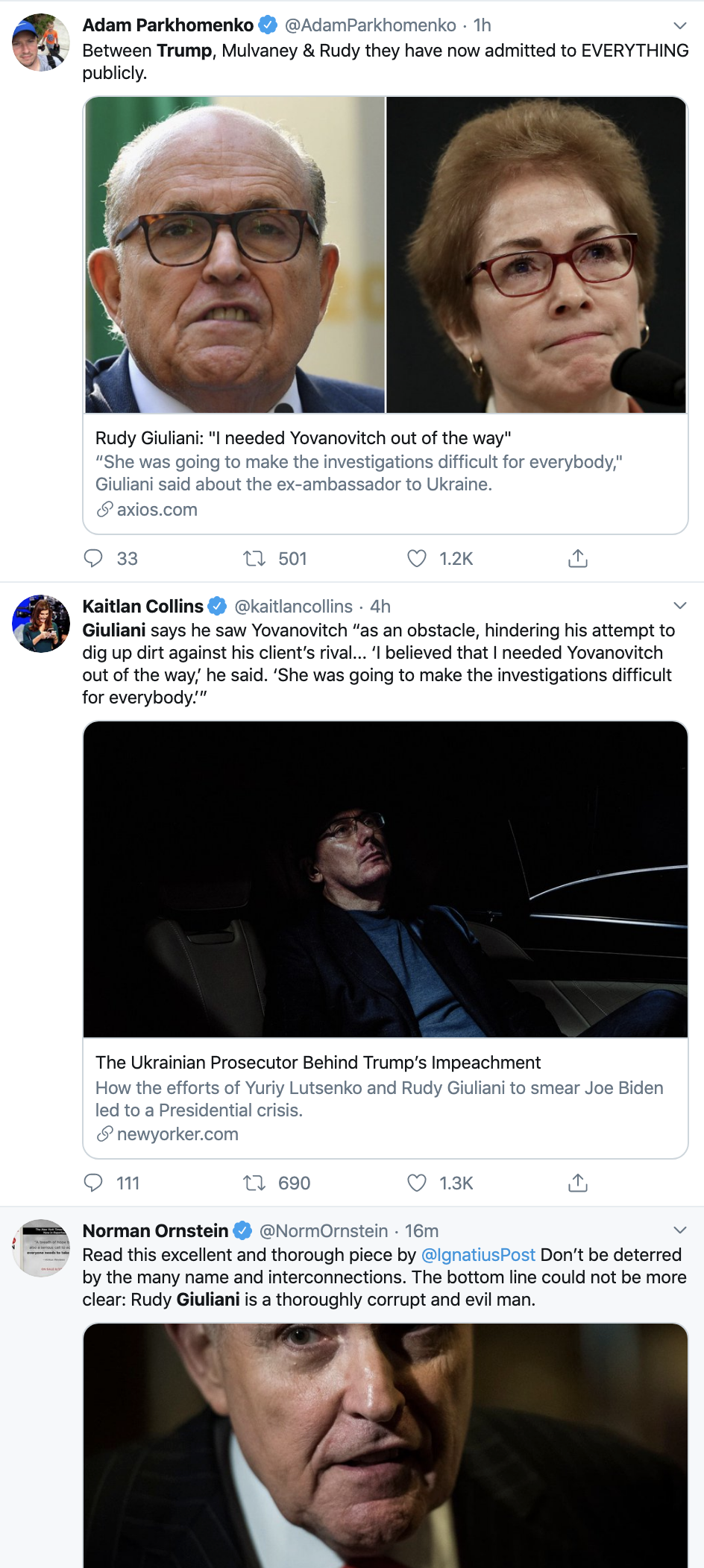 Screen-Shot-2019-12-16-at-4.34.33-PM Trump Just Defended Giuliani In The Most Ridiculous Way Ever Corruption Crime Featured Impeachment Top Stories