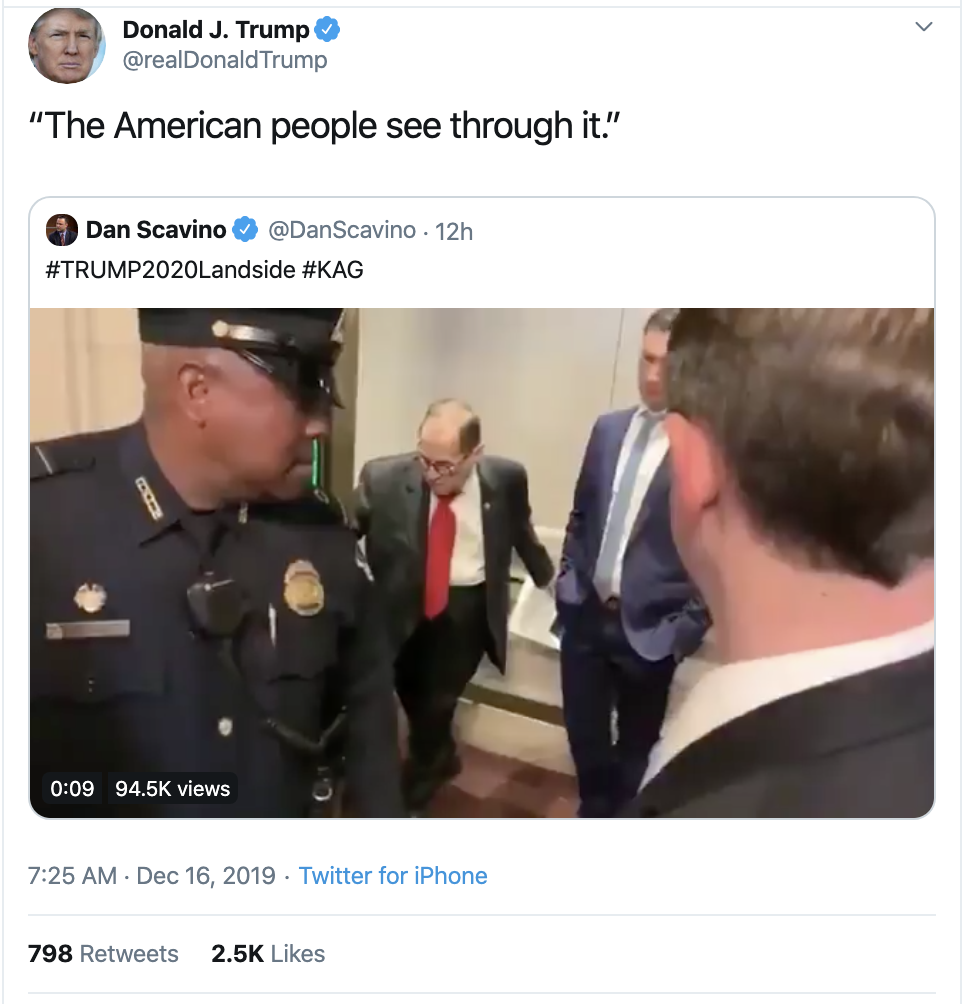 Screen-Shot-2019-12-16-at-7.28.42-AM Trump Delivers Embarrassing Monday Pre-Dawn Twitter Outburst Corruption Economy Featured Impeachment Top Stories
