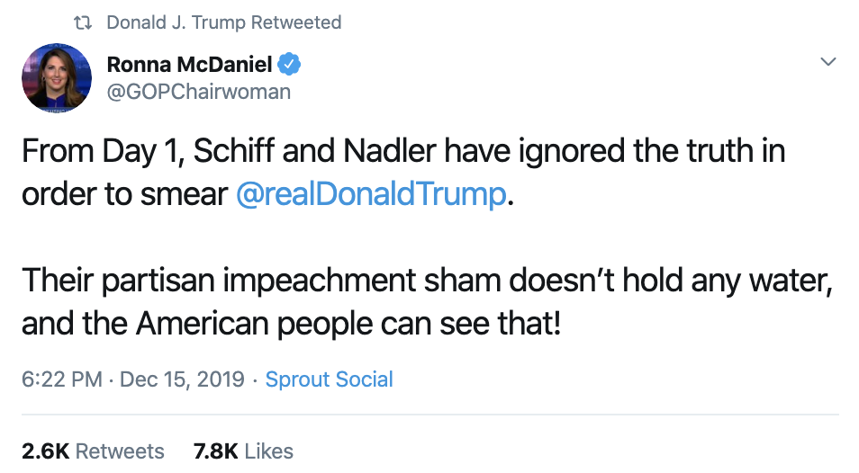 Screen-Shot-2019-12-16-at-7.33.01-AM Trump Delivers Embarrassing Monday Pre-Dawn Twitter Outburst Corruption Economy Featured Impeachment Top Stories