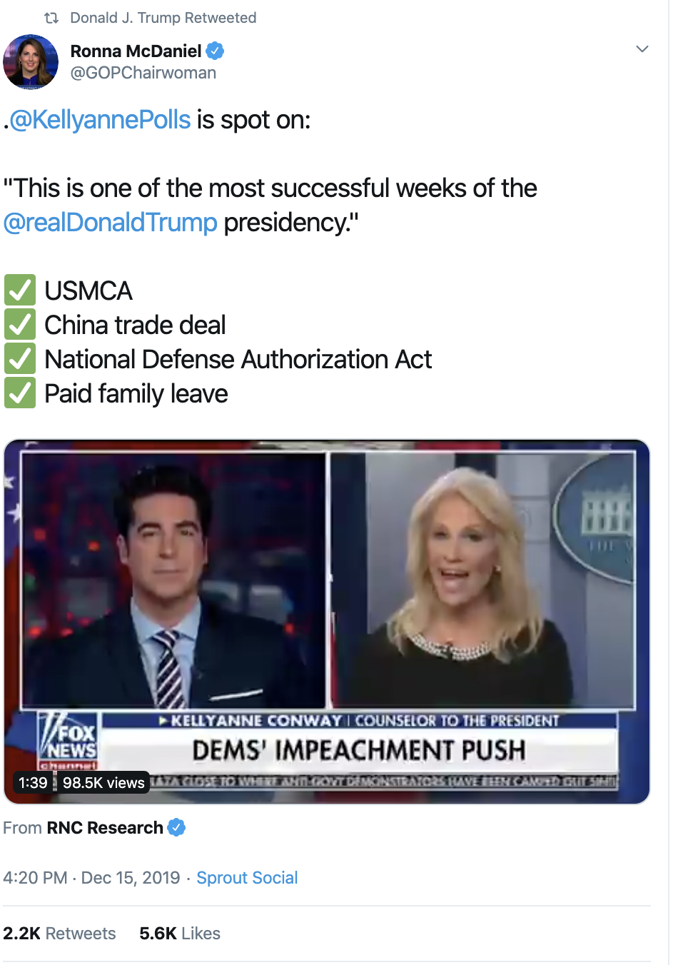 Screen-Shot-2019-12-16-at-7.33.45-AM Trump Delivers Embarrassing Monday Pre-Dawn Twitter Outburst Corruption Economy Featured Impeachment Top Stories
