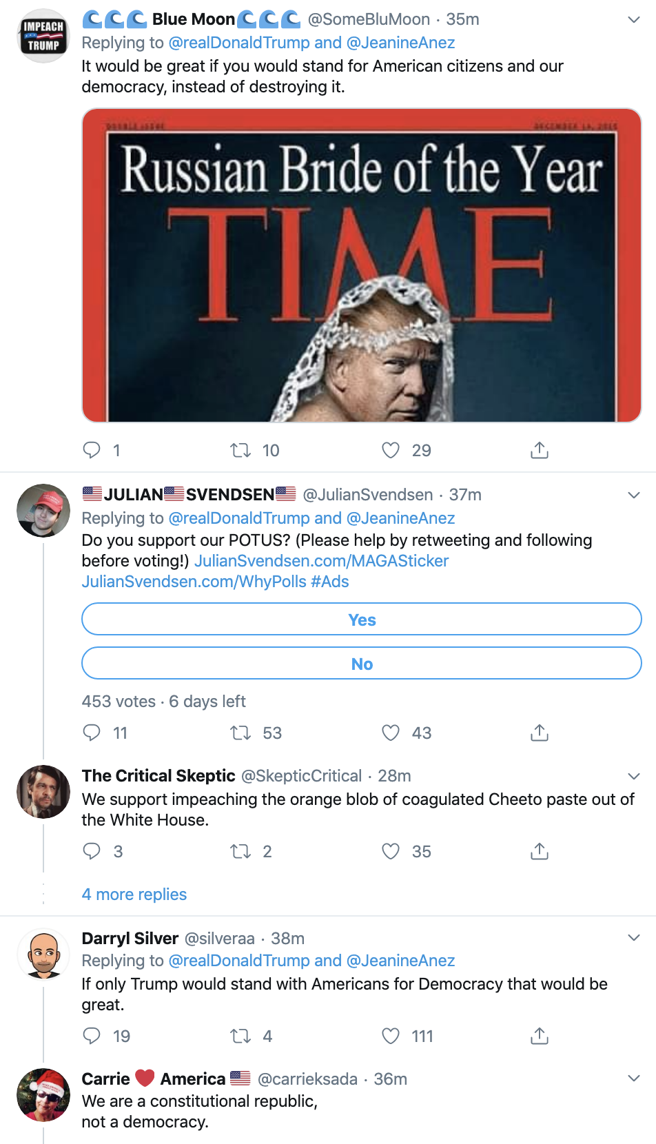 Screen-Shot-2019-12-17-at-1.49.22-PM Trump Goes Twitter Crazy Over Impeachment Tuesday Featured Foreign Policy Human Rights Politics Top Stories
