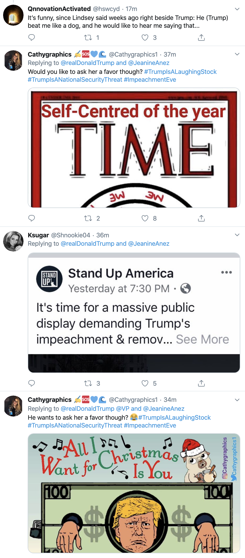 Screen-Shot-2019-12-17-at-1.50.28-PM Trump Goes Twitter Crazy Over Impeachment Tuesday Featured Foreign Policy Human Rights Politics Top Stories