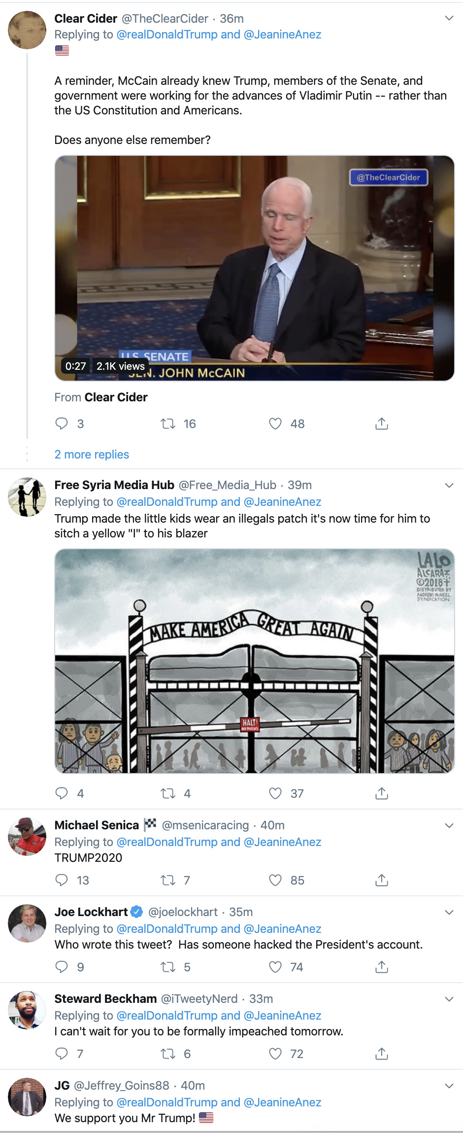 Screen-Shot-2019-12-17-at-1.50.47-PM Trump Goes Twitter Crazy Over Impeachment Tuesday Featured Foreign Policy Human Rights Politics Top Stories