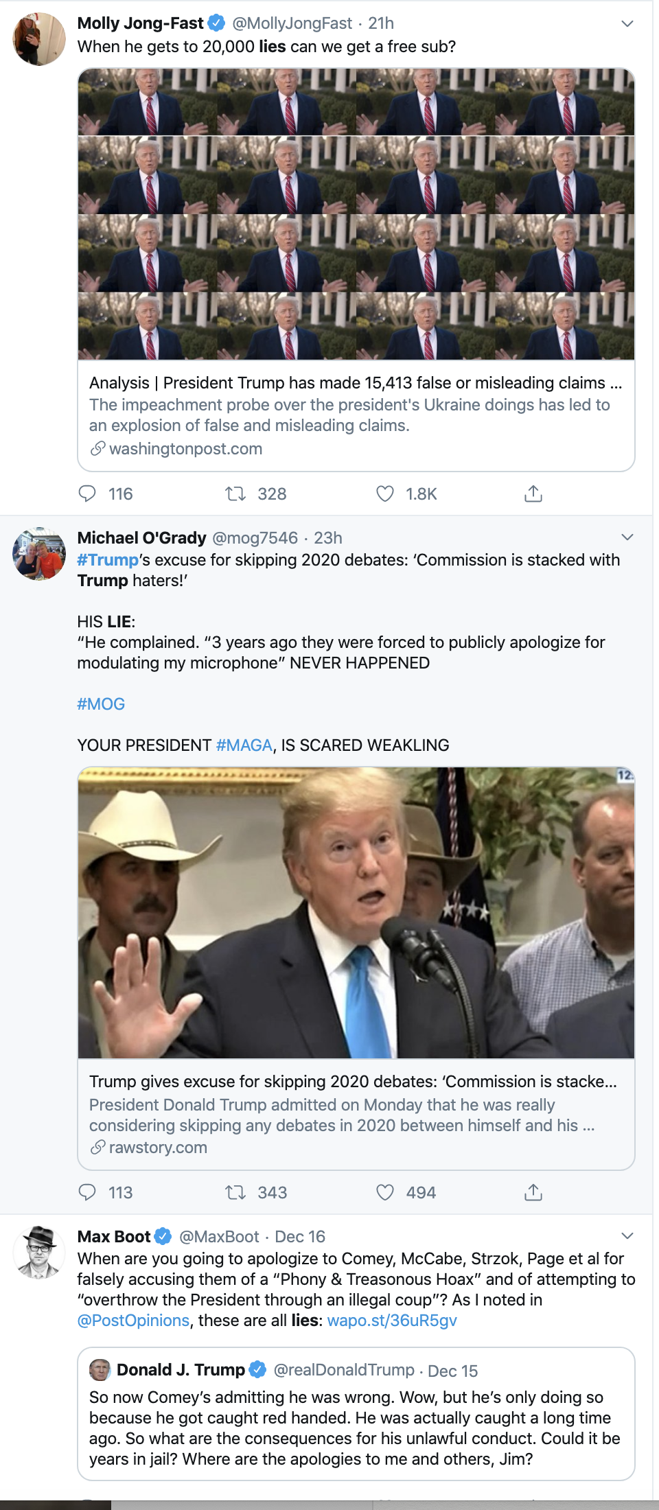 Screen-Shot-2019-12-17-at-8.44.57-AM Fact-Checker Tallies Tremendous Trove Of Trump's 2019 Lies Corruption Donald Trump Featured National Security Top Stories