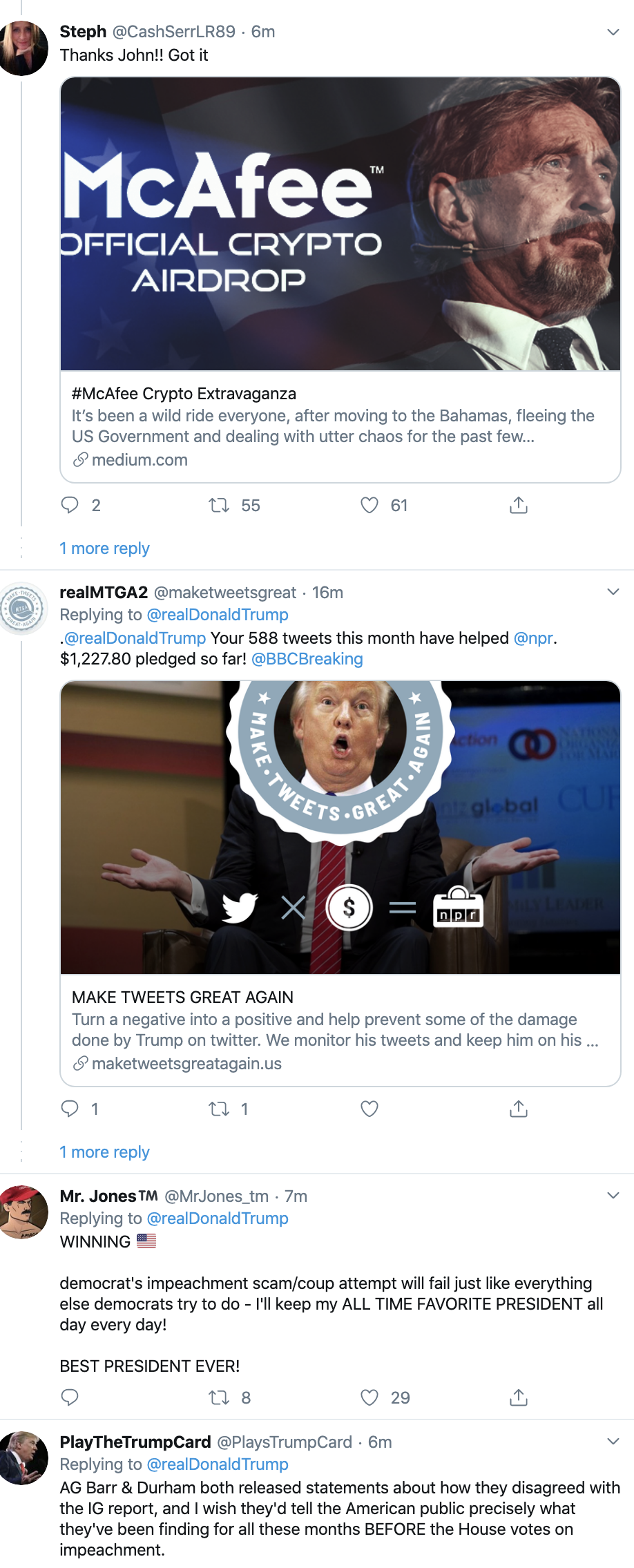 Screen-Shot-2019-12-17-at-8.55.41-AM Trump Tweets Desperate Tuesday AM Anti-Impeachment Rant Economy Election 2020 Featured Impeachment Top Stories