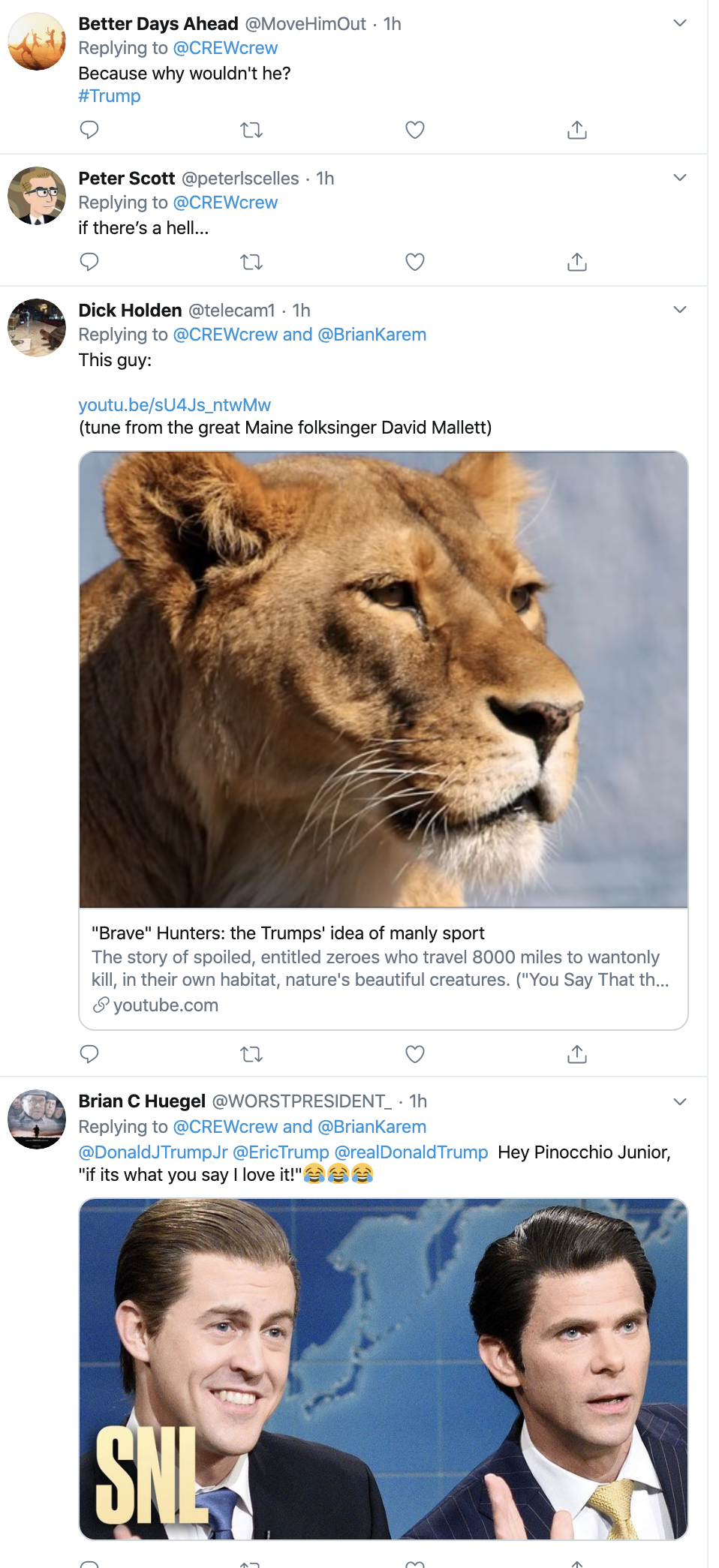 Screen-Shot-2019-12-18-at-12.28.08-PM Don Jr Under Federal Investigation Over Exotic Animal Poaching Crimes Corruption Crime Featured Gun Control Top Stories