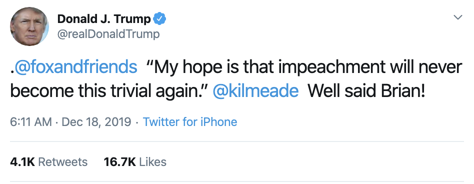 Screen-Shot-2019-12-18-at-7.09.28-AM Trump Launches Pre-Dawn Impeachment Induced Mental Breakdown Donald Trump Featured Impeachment Social Media Top Stories