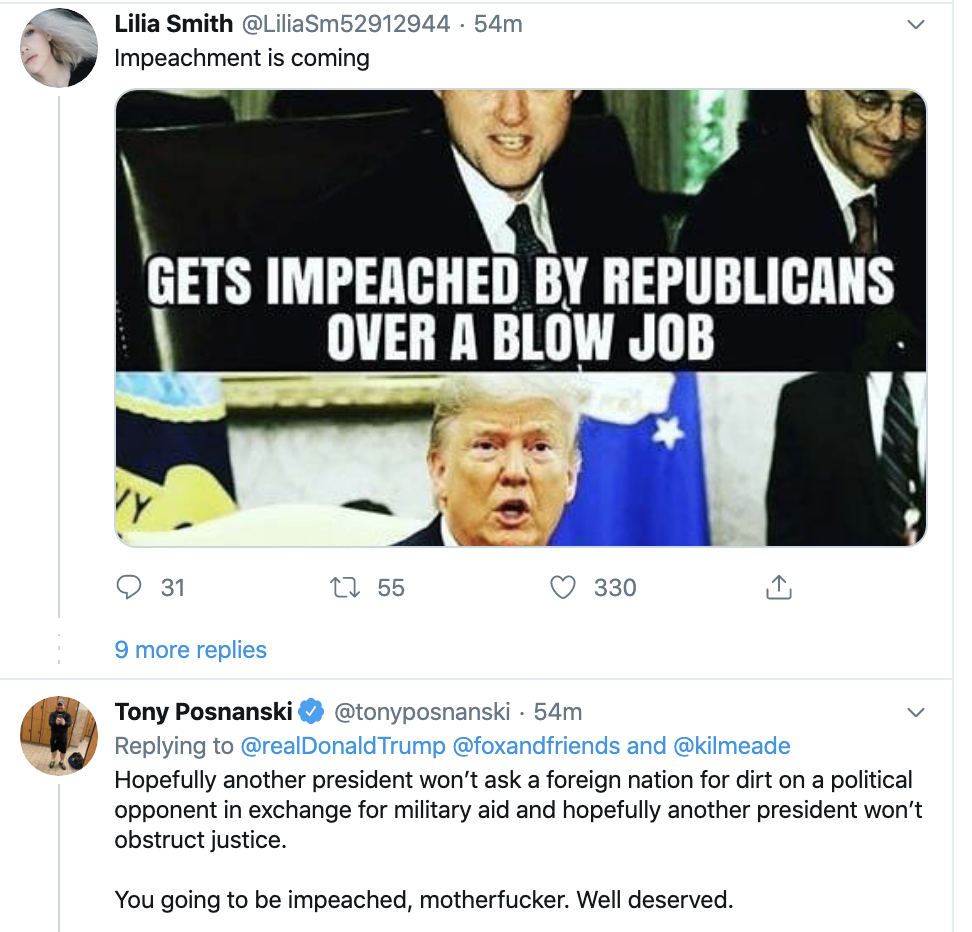 Screen-Shot-2019-12-18-at-7.10.09-AM Trump Launches Pre-Dawn Impeachment Induced Mental Breakdown Donald Trump Featured Impeachment Social Media Top Stories