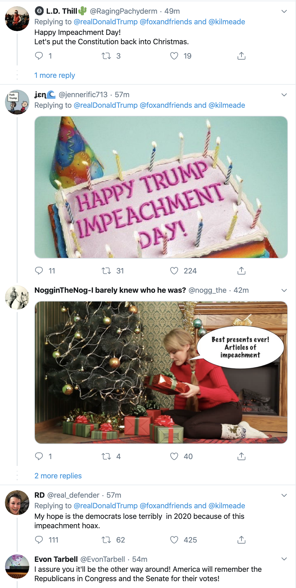 Screen-Shot-2019-12-18-at-7.10.34-AM Trump Launches Pre-Dawn Impeachment Induced Mental Breakdown Donald Trump Featured Impeachment Social Media Top Stories