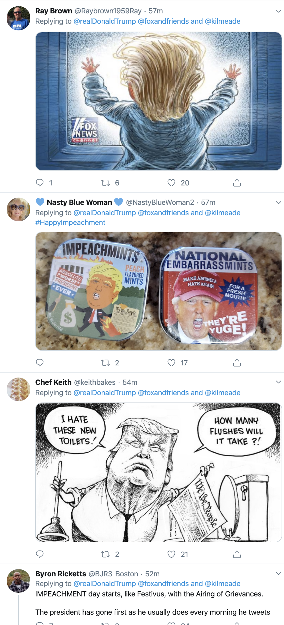 Screen-Shot-2019-12-18-at-7.11.30-AM Trump Launches Pre-Dawn Impeachment Induced Mental Breakdown Donald Trump Featured Impeachment Social Media Top Stories