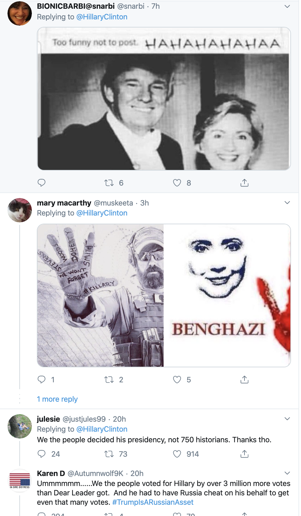 Screen-Shot-2019-12-18-at-8.16.08-AM Hillary Upstages Trump On Impeachment Day With Defiant Twitter Trolling Featured Hillary Clinton Impeachment Social Media Top Stories