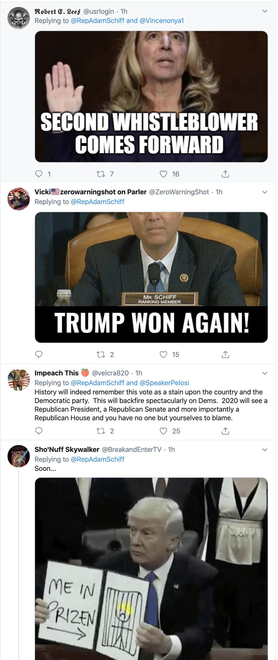 Screen-Shot-2019-12-18-at-8.31.50-AM Adam Schiff Tweets Impeachment Day Trolling Of Trump. Donald Trump Featured Impeachment Russia Top Stories
