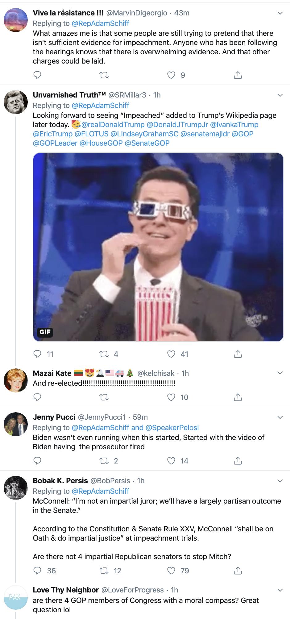 Screen-Shot-2019-12-18-at-8.32.24-AM Adam Schiff Tweets Impeachment Day Trolling Of Trump. Donald Trump Featured Impeachment Russia Top Stories