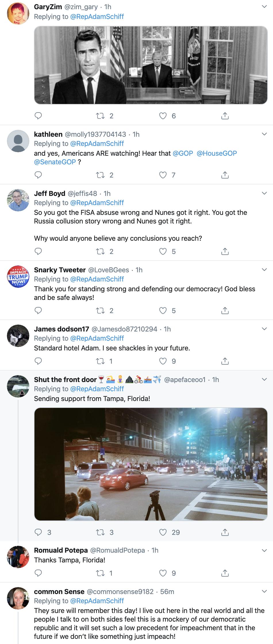 Screen-Shot-2019-12-18-at-8.32.41-AM Adam Schiff Tweets Impeachment Day Trolling Of Trump. Donald Trump Featured Impeachment Russia Top Stories
