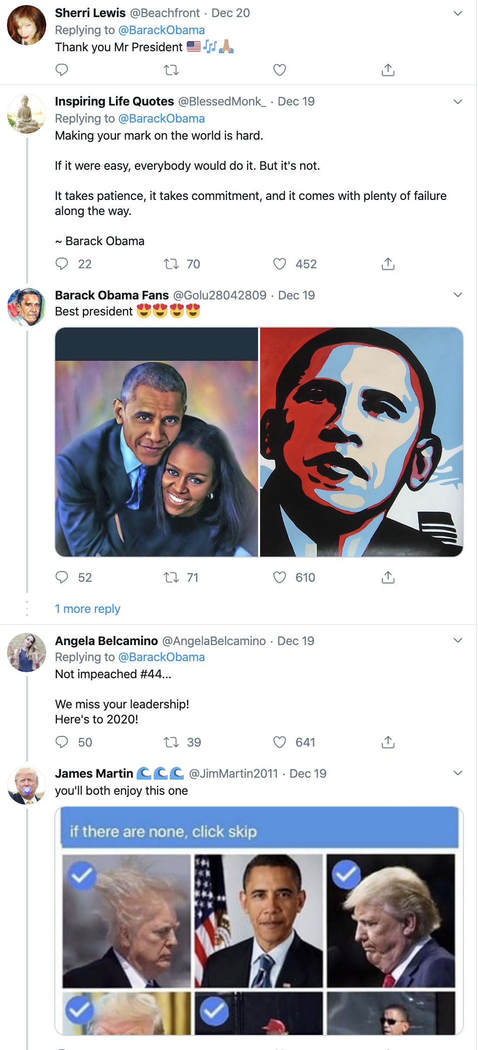 Screen-Shot-2019-12-22-at-9.44.18-AM Obama Tweets Inspirational Holiday Message To America Celebrities Domestic Policy Featured Politics Top Stories
