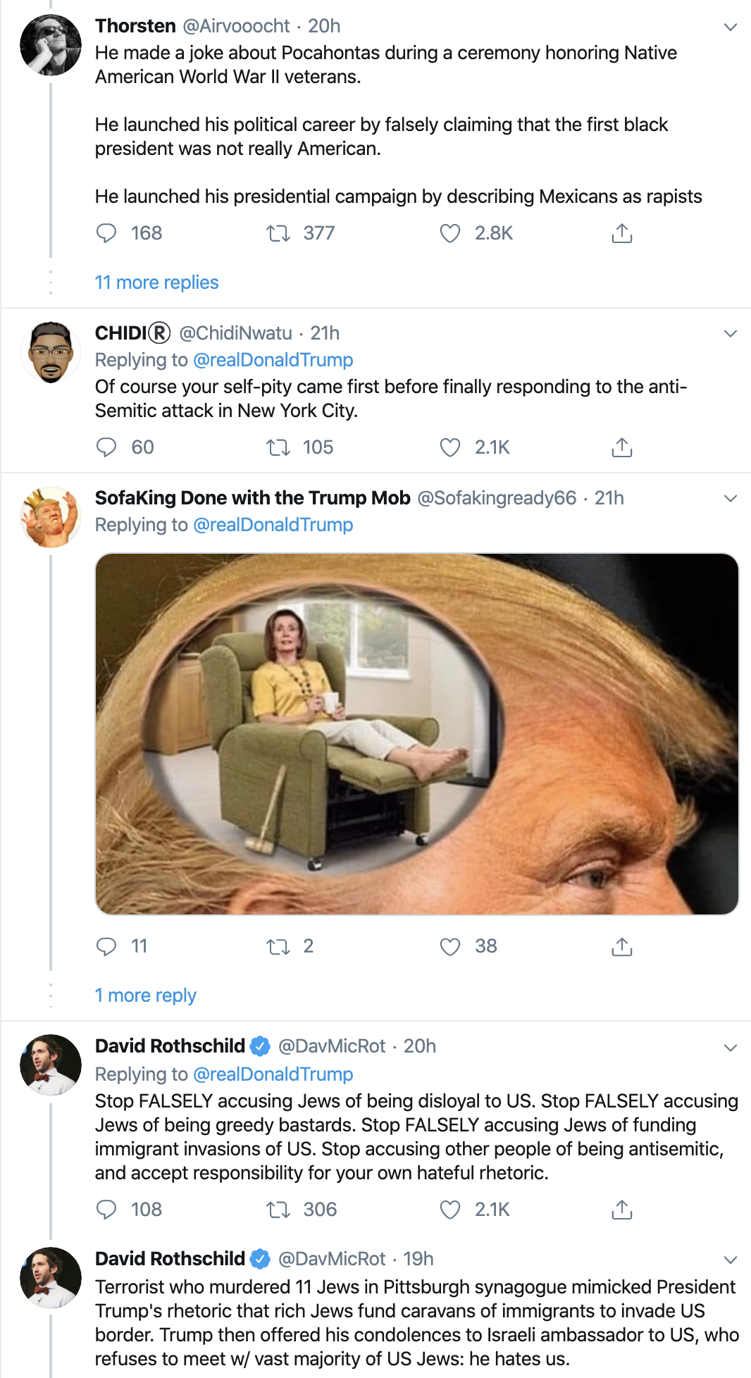 Screen-Shot-2019-12-30-at-10.18.28-AM Trump Gets Blasted After Politicizing Hanukkah Stabbings Anti-Semitism Donald Trump Featured Mental Illness National Security Top Stories