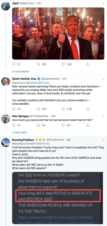 Screen-Shot-2019-12-30-at-10.18.51-AM Trump Gets Blasted After Politicizing Hanukkah Stabbings Anti-Semitism Donald Trump Featured Mental Illness National Security Top Stories