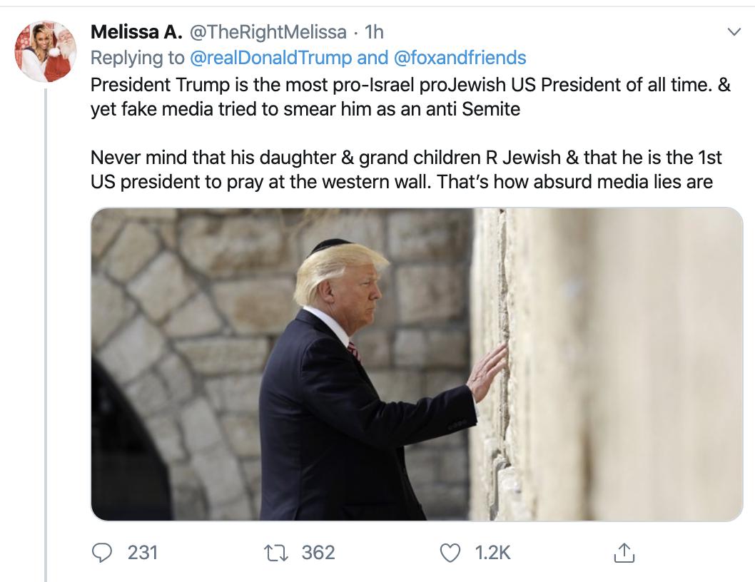 Screen-Shot-2019-12-30-at-10.29.05-AM Trump Gets Blasted After Politicizing Hanukkah Stabbings Anti-Semitism Donald Trump Featured Mental Illness National Security Top Stories