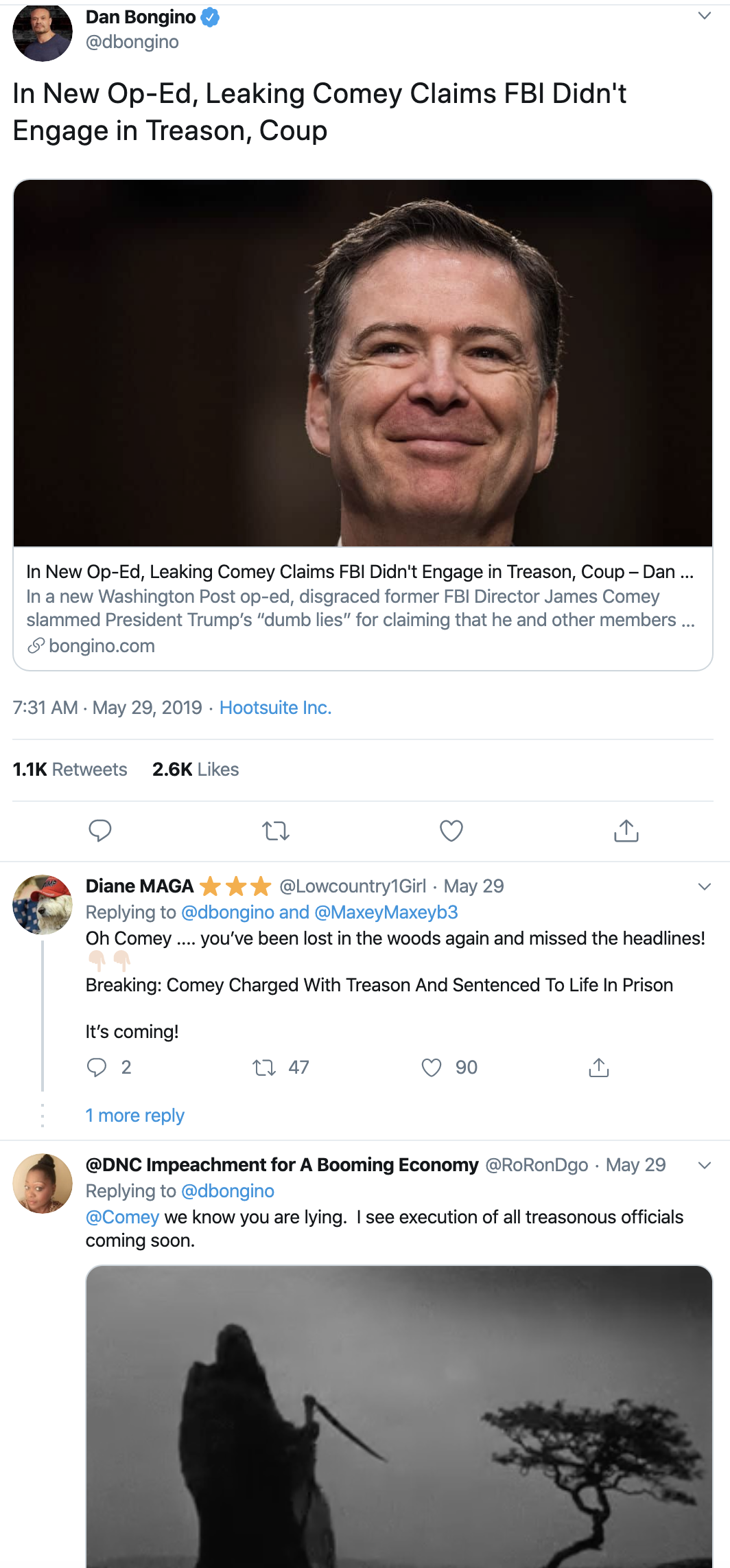 Screen-Shot-2019-12-30-at-4.26.03-PM Comey Trashes Trump In Jaw-Dropping New WaPo Opinion Piece Donald Trump Featured National Security Opinion Politics Top Stories