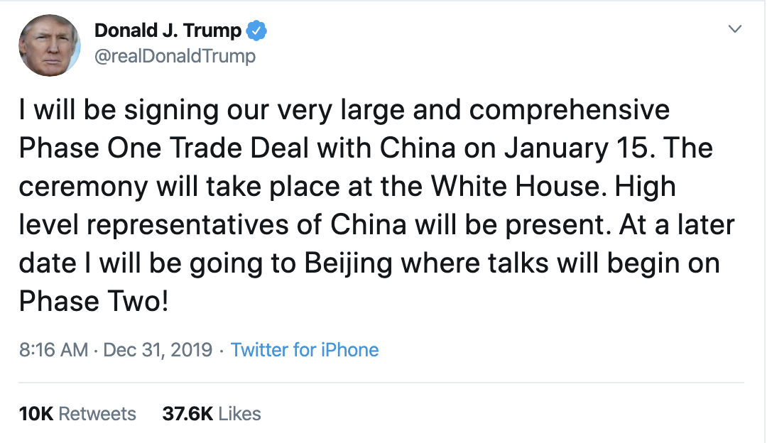 Screen-Shot-2019-12-31-at-9.58.04-AM Trump Continues Morning-Long Twitter Tirade Like He's Angry Domestic Policy Featured Top Stories War