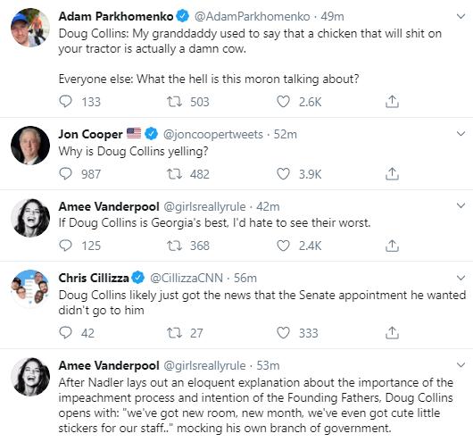 dc13 Top Republican Suffers Impeachment Hearing Humiliation Corruption Donald Trump Impeachment Investigation Politics Social Media Top Stories