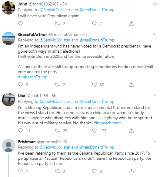 mc20 GOP Leader Publicly Humiliates Trump After Latest Twitter Gaffe Corruption Donald Trump Election 2020 Impeachment Politics Social Media Top Stories
