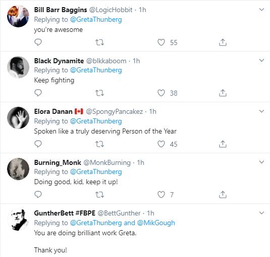 th17 Greta Thunberg Tweets New Anti-Trump Response Statement Donald Trump Environment Politics Social Media Top Stories