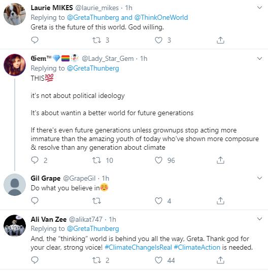 th20 Greta Thunberg Tweets New Anti-Trump Response Statement Donald Trump Environment Politics Social Media Top Stories