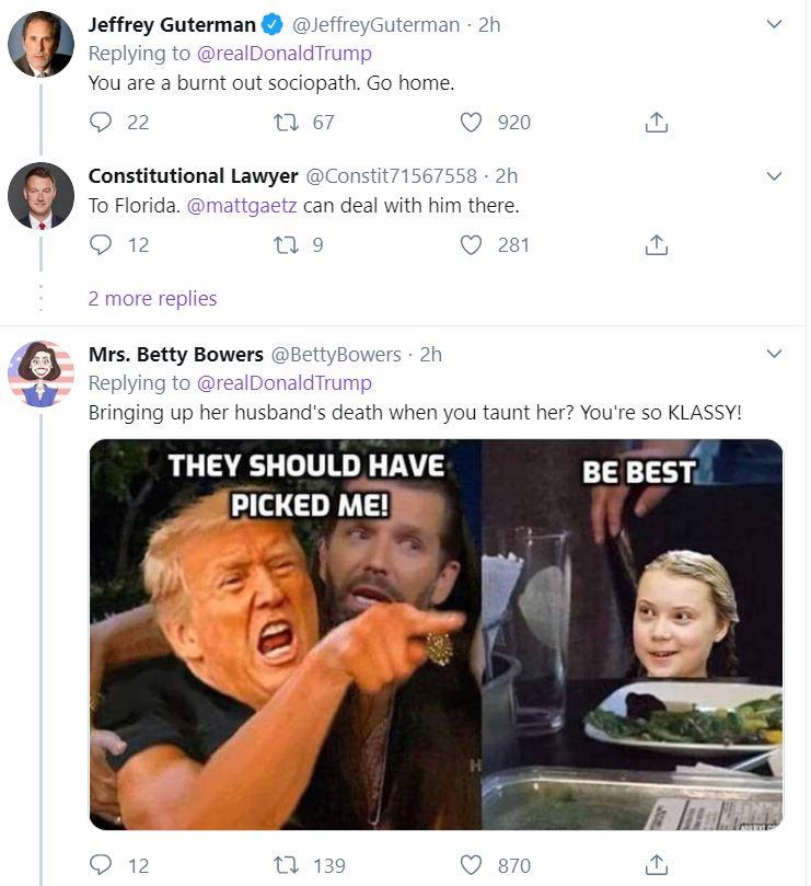 trumptweet2 Trump Loses It On Twitter Saturday Night Donald Trump Featured Impeachment Top Stories Twitter