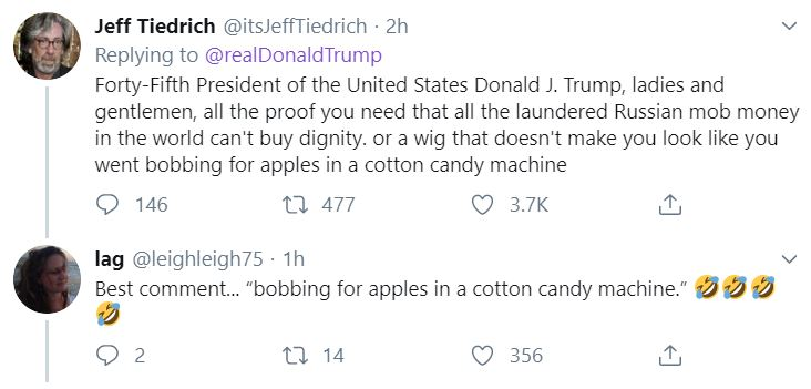 trumptweet3 Trump Loses It On Twitter Saturday Night Donald Trump Featured Impeachment Top Stories Twitter