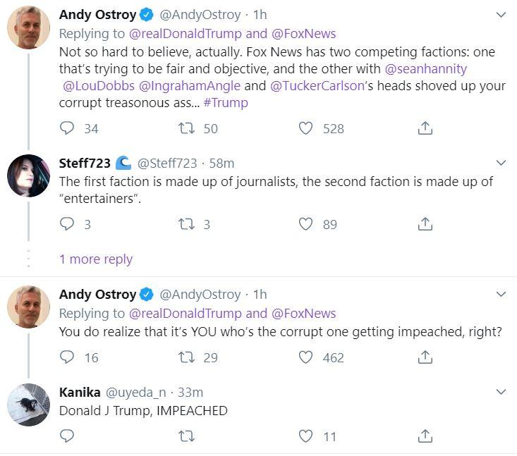 trumptweet4 Trump Loses It On Twitter Saturday Night Donald Trump Featured Impeachment Top Stories Twitter