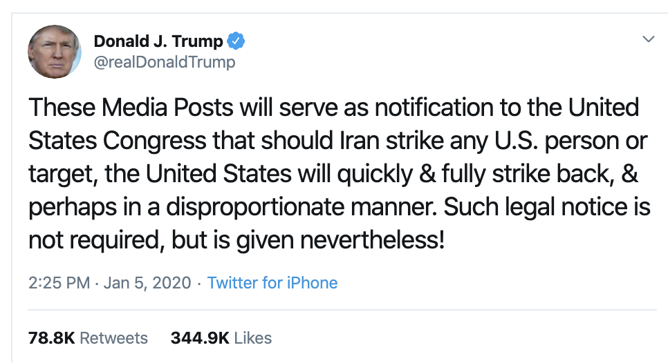 Screen-Shot-2020-01-06-at-11.18.54-AM United Nations Embarrass Trump In Front Of Everyone Over Iran Featured Military National Security Politics Top Stories War