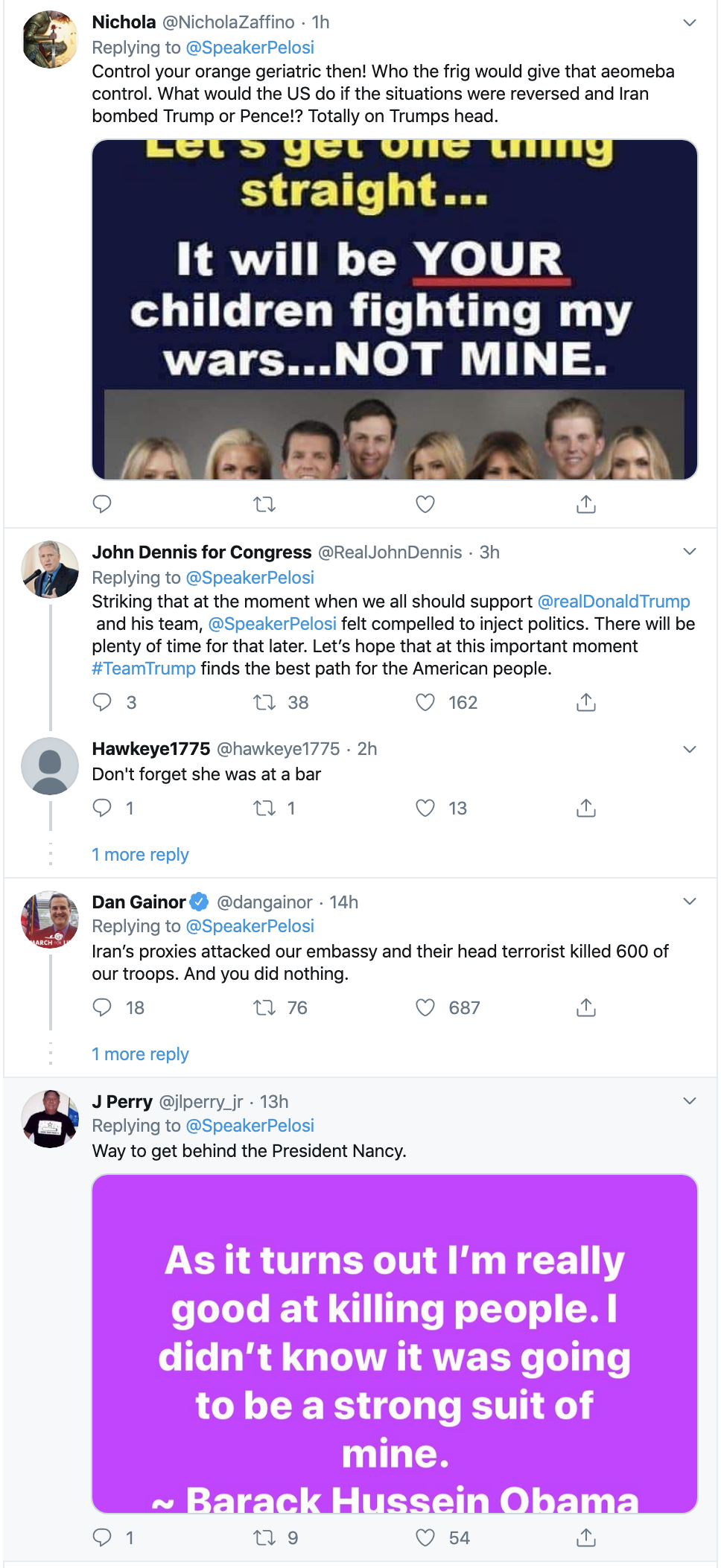 Screen-Shot-2020-01-08-at-9.21.35-AM Pelosi Upstages Trump With Tweet Like America's Real Leader Featured Military Top Stories War