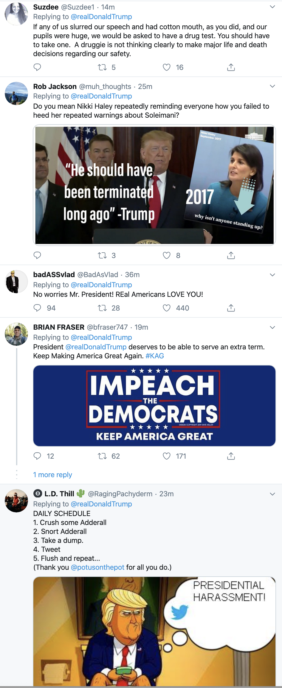 Screen-Shot-2020-01-09-at-7.08.11-AM Trump Rebuked Hard After Going Off On Twitter Thursday Morning Donald Trump Featured Impeachment Politics Top Stories