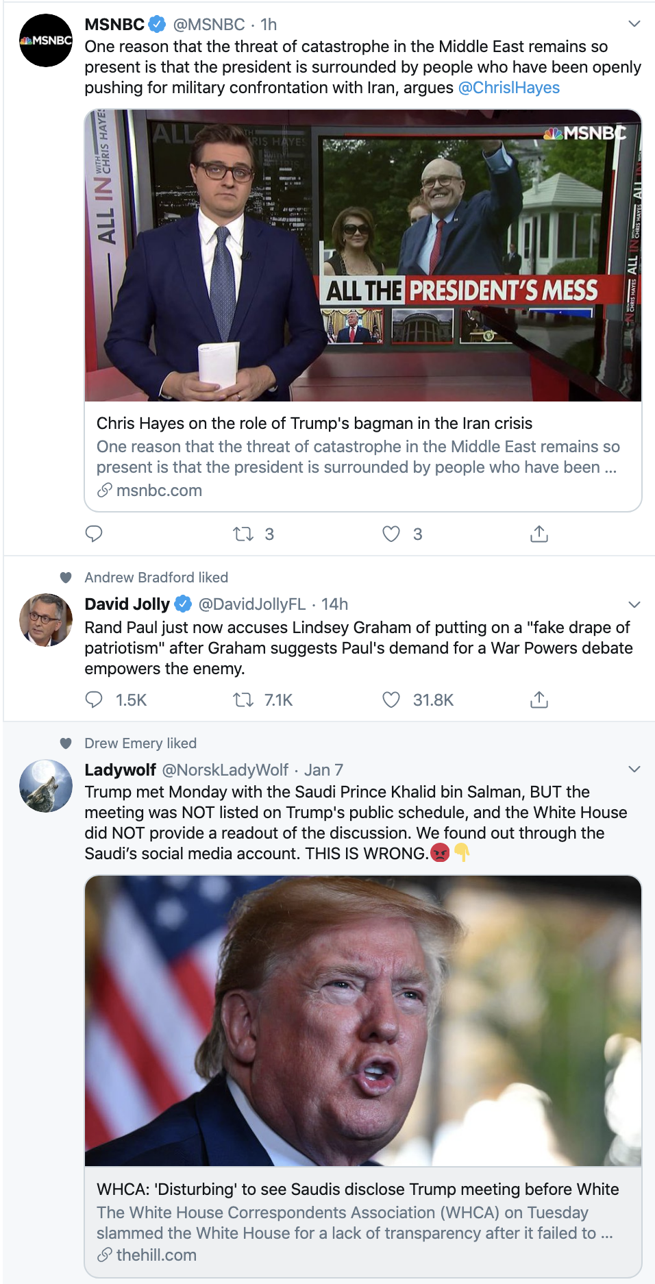 Screen-Shot-2020-01-09-at-8.12.03-AM Trump Claims Pelosi's Articles of Impeachment Not Valid Corruption Crime Featured Impeachment Top Stories