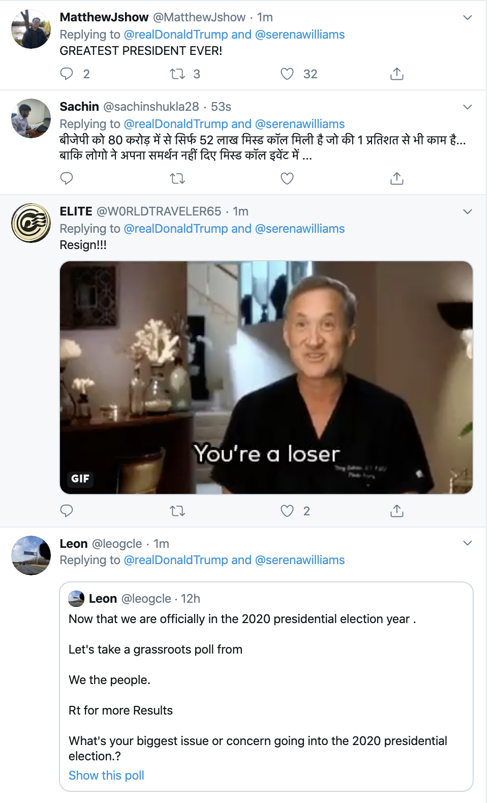Screen-Shot-2020-01-12-at-7.30.14-AM Trump Spazzes Into Sunday Morning Multi-Tweet Conniption Fit Election 2020 Featured Politics Sports Top Stories