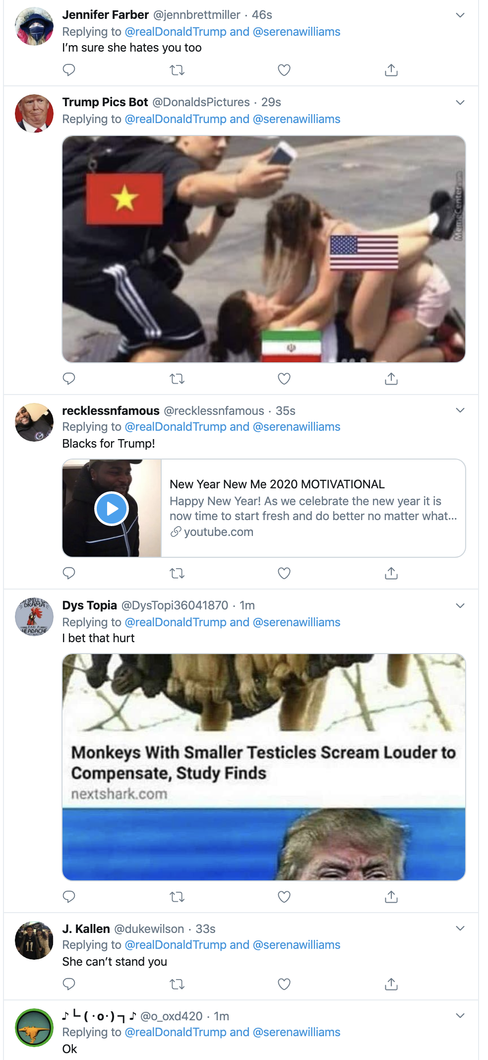 Screen-Shot-2020-01-12-at-7.30.59-AM Trump Spazzes Into Sunday Morning Multi-Tweet Conniption Fit Election 2020 Featured Politics Sports Top Stories