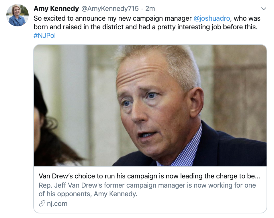 Screen-Shot-2020-01-13-at-10.17.46-AM Dem Who Switched Parties Loses Campaign Manager To Opponent Election 2020 Featured Impeachment Politics Top Stories