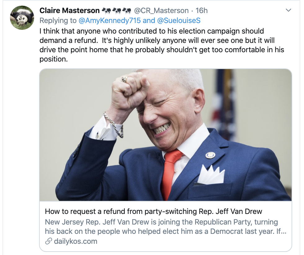 Screen-Shot-2020-01-13-at-10.22.57-AM Dem Who Switched Parties Loses Campaign Manager To Opponent Election 2020 Featured Impeachment Politics Top Stories