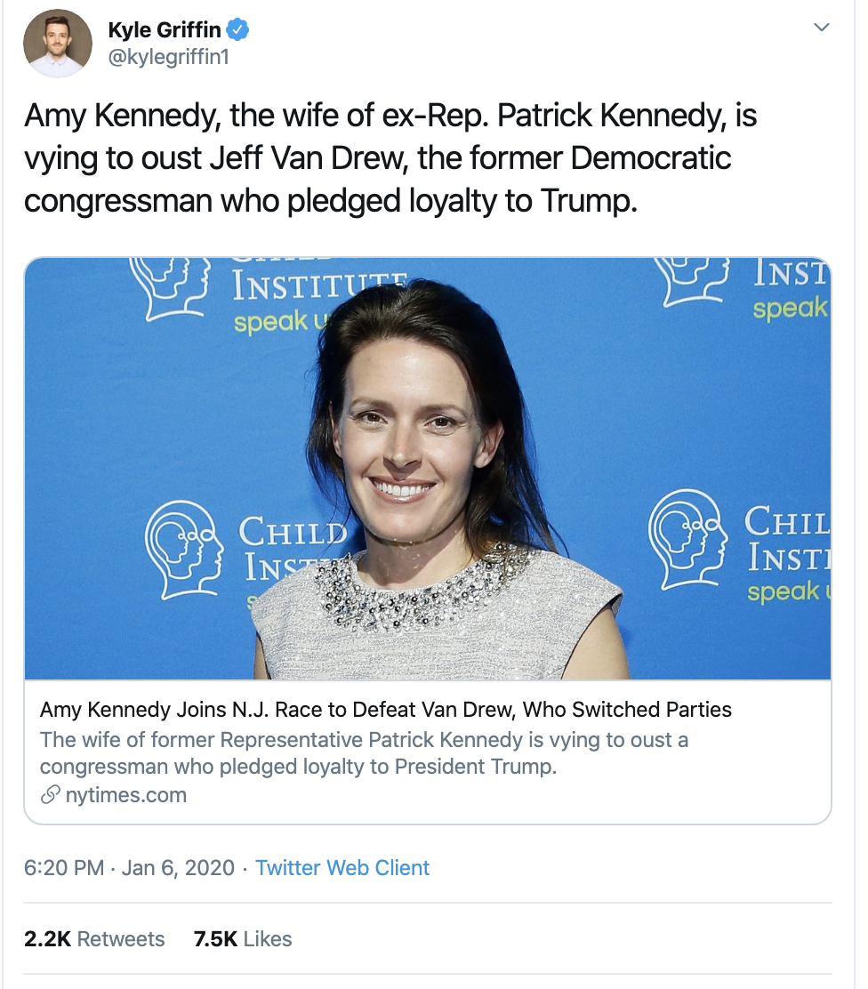 Screen-Shot-2020-01-13-at-10.25.40-AM Dem Who Switched Parties Loses Campaign Manager To Opponent Election 2020 Featured Impeachment Politics Top Stories