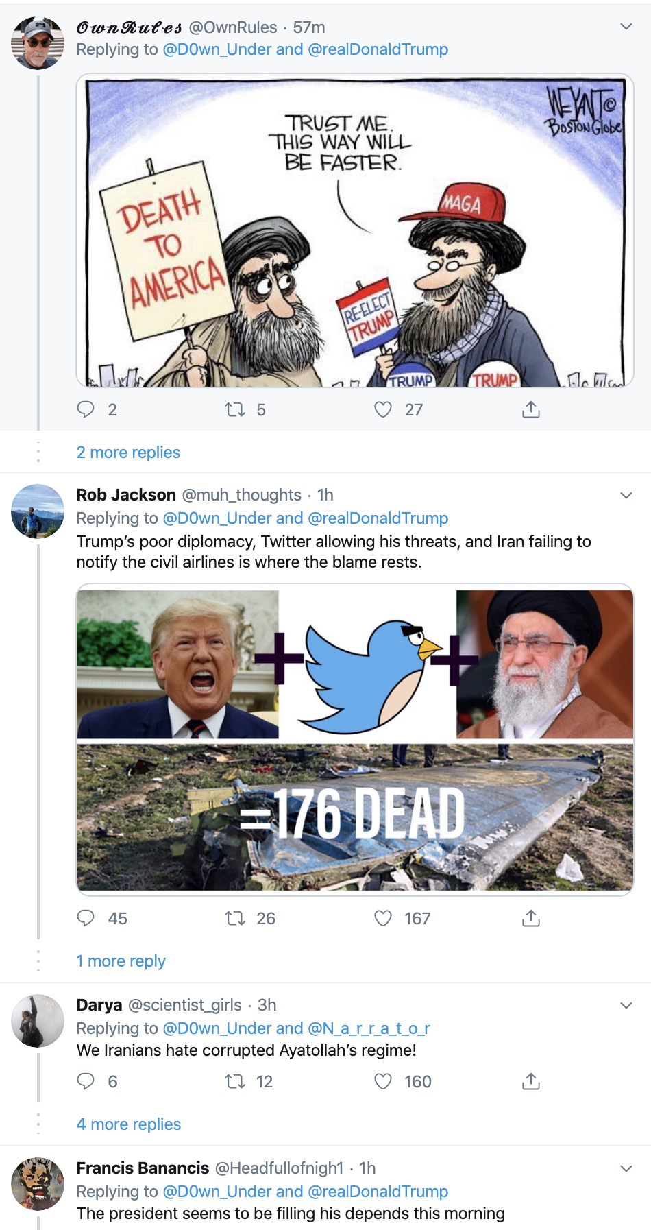 Screen-Shot-2020-01-13-at-9.25.22-AM People Flip Out After Trump Tweets Racist Anti-Muslim Meme Election 2020 Featured Impeachment Religion Top Stories