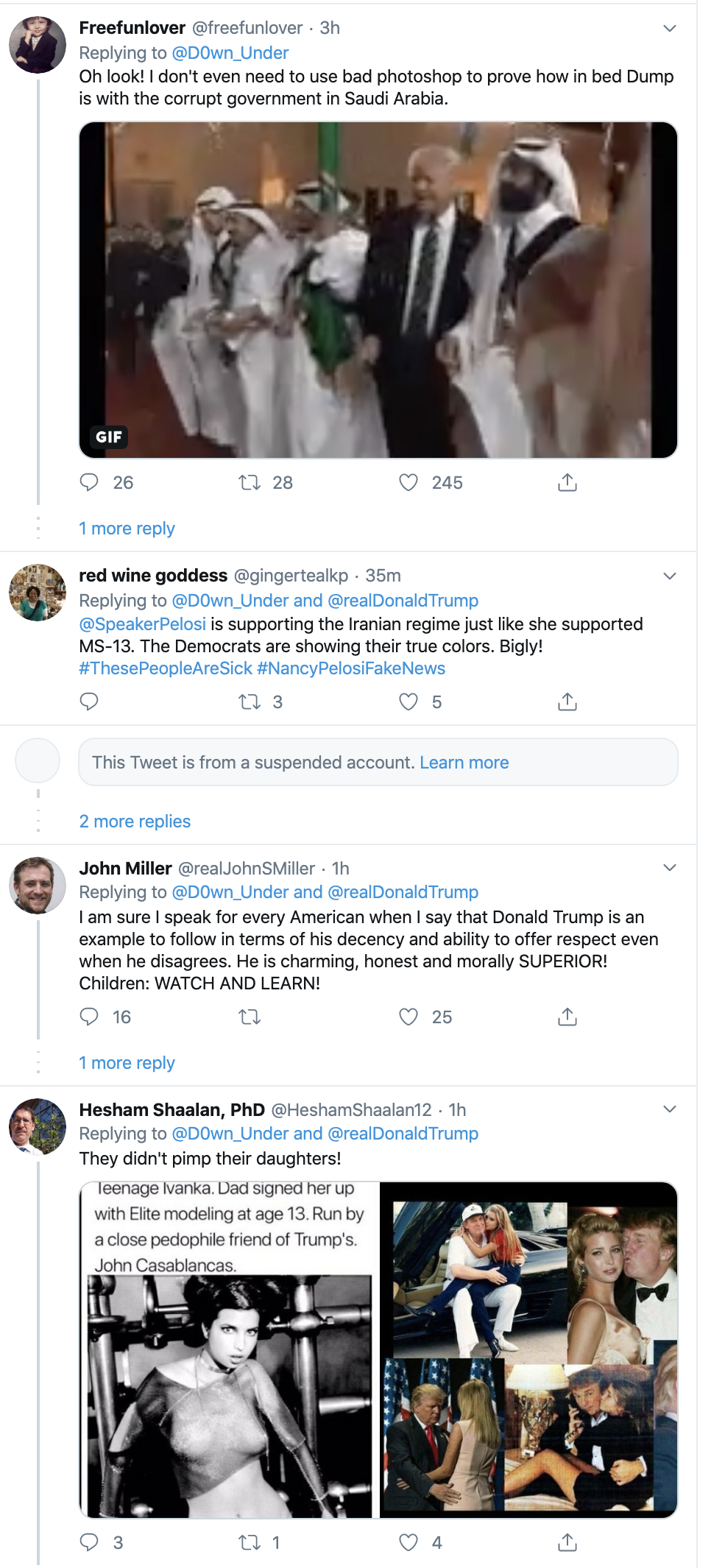 Screen-Shot-2020-01-13-at-9.25.52-AM People Flip Out After Trump Tweets Racist Anti-Muslim Meme Election 2020 Featured Impeachment Religion Top Stories