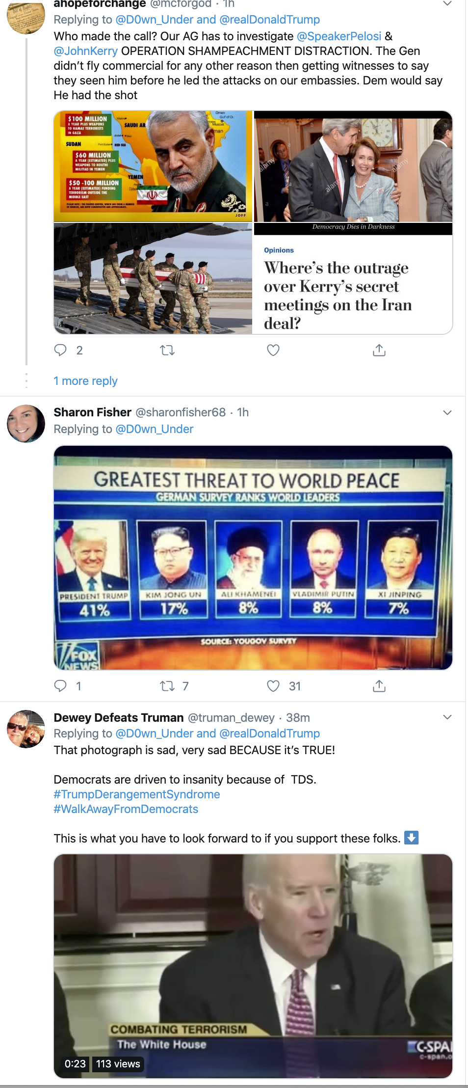 Screen-Shot-2020-01-13-at-9.26.13-AM People Flip Out After Trump Tweets Racist Anti-Muslim Meme Election 2020 Featured Impeachment Religion Top Stories