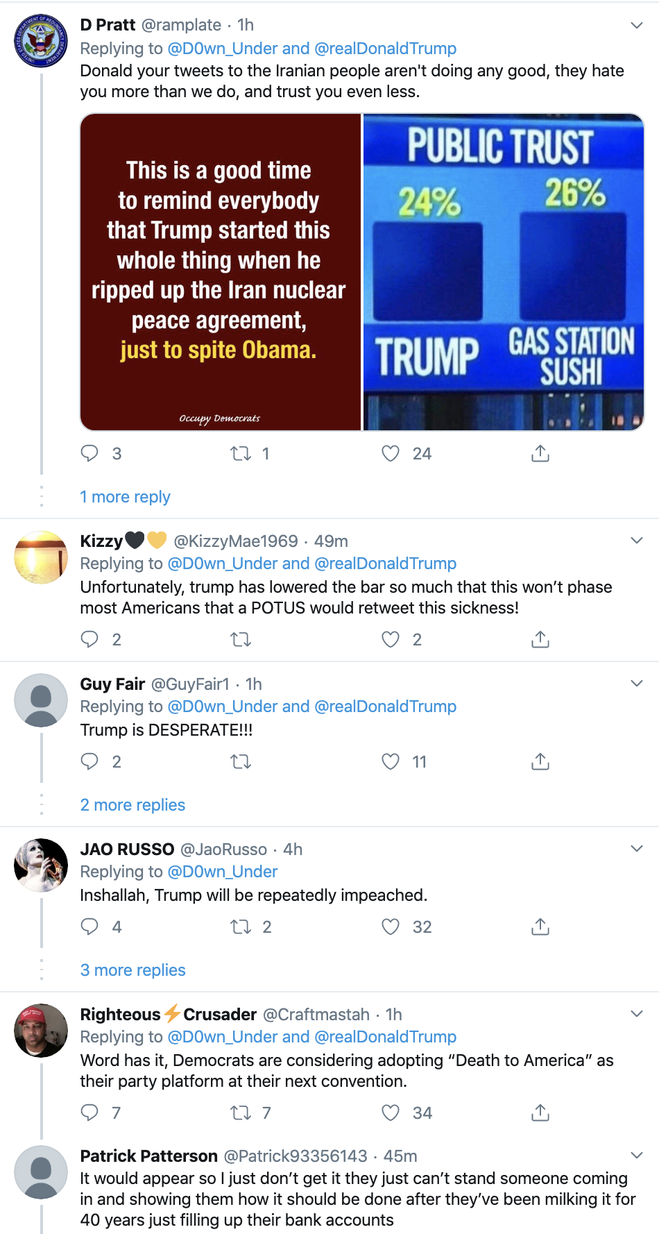 Screen-Shot-2020-01-13-at-9.26.38-AM People Flip Out After Trump Tweets Racist Anti-Muslim Meme Election 2020 Featured Impeachment Religion Top Stories