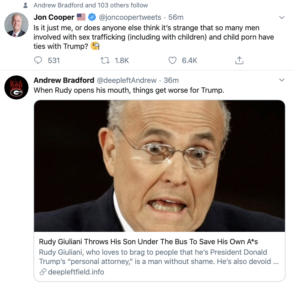 Screen-Shot-2020-01-14-at-8.37.36-AM Giuliani Lobbies To Sit On Trump's Impeachment Trial Team Corruption Election 2020 Featured Impeachment Top Stories